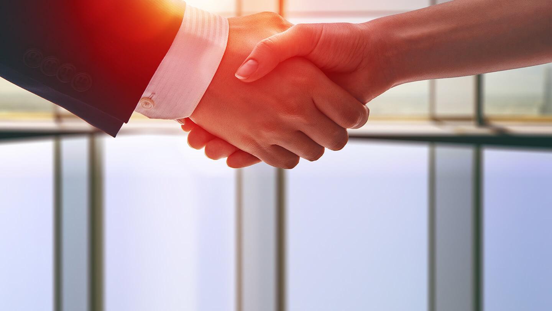 Uścisk dłoni - Zasady współpracy Kancelarii